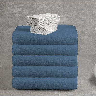 Ruhlman Hand Towel Set Color: Denim