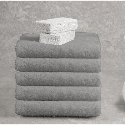 Ruhlman Hand Towel Set Color: Dark Taupe