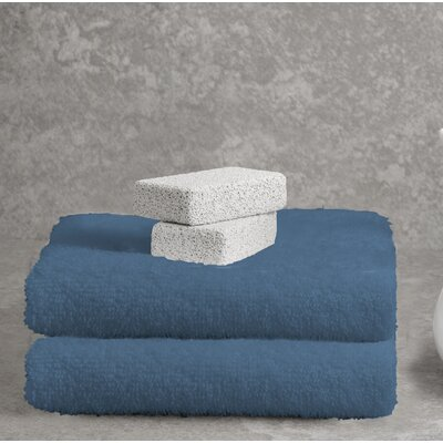 Ruhlman Bath Towel Set Color: Denim