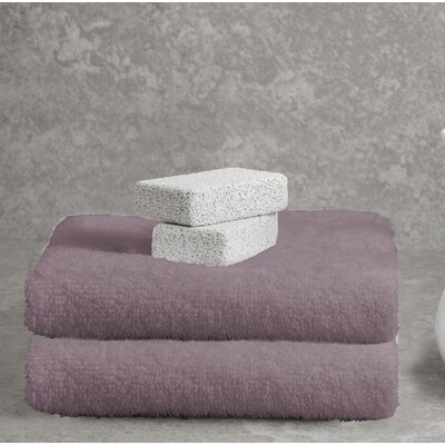Ruhlman Bath Towel Set Color: Plum