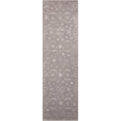 Kalona Hand-Tufted Dove Area Rug Rug Size: Runner 23 x 8
