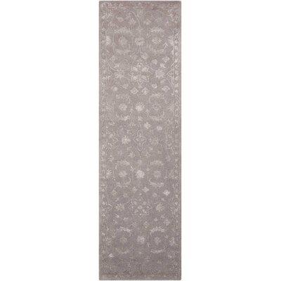 Kalona Hand-Tufted Dove Area Rug Rug Size: Runner 23 x 8
