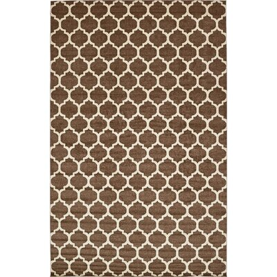 Moore Light Brown Area Rug Rug Size: Rectangle 13 x 18