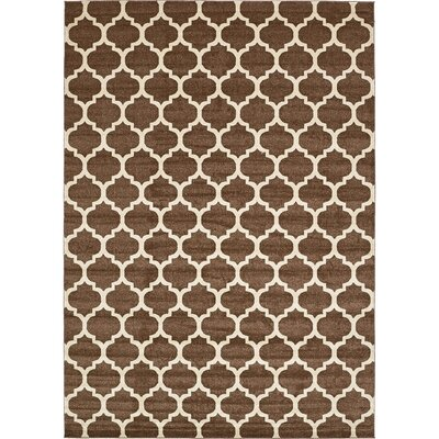 Moore Light Brown Area Rug Rug Size: Rectangle 10 x 14
