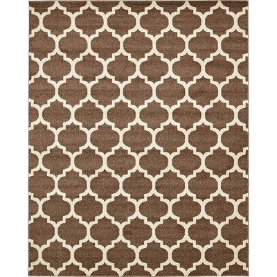 Moore Light Brown Area Rug Rug Size: Rectangle 8 x 10