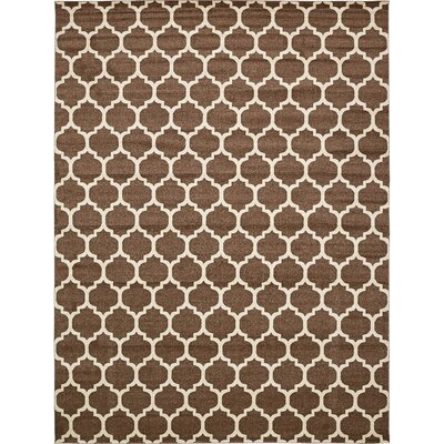 Moore Light Brown Area Rug Rug Size: Rectangle 122 x 16