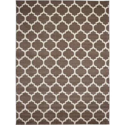 Moore Light Brown Area Rug Rug Size: Rectangle 10 x 13