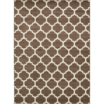 Moore Light Brown Area Rug Rug Size: Rectangle 8 x 11