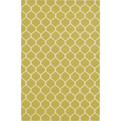 Emjay Green Area Rug Rug Size: Rectangle 106 x 165