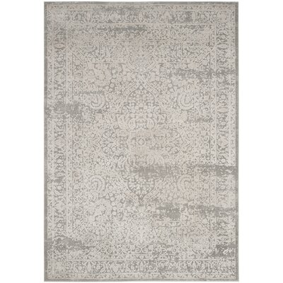 Van Andel Gray/Beige Area Rug Rug Size: Rectangle 26 x 4