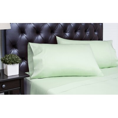 Meredosia 4 Piece 340 Thread Count Sheet Set Size: Queen, Color: Sea Foam