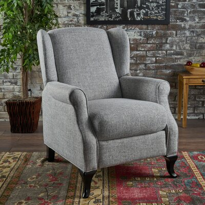 Blairsville Manual Recliner Upholstery: Light Gray