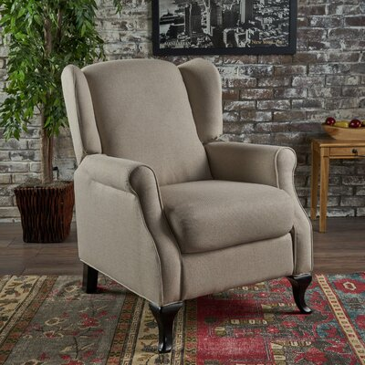 Blairsville Manual Recliner Upholstery: Wheat