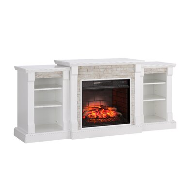 Hazelwood Simulated Stone Infrared Electric Fireplace ALTH3767