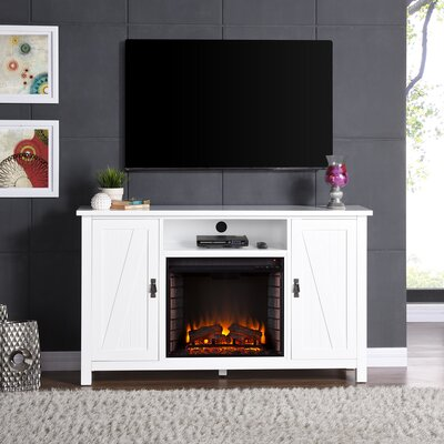 Cheswick 58 TV Standith  Electric Fireplace TV Stand Infrared Technology: No