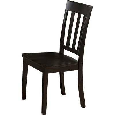 Antrim Solid Wood Dining Chair (Set of 2) Color: Espresso