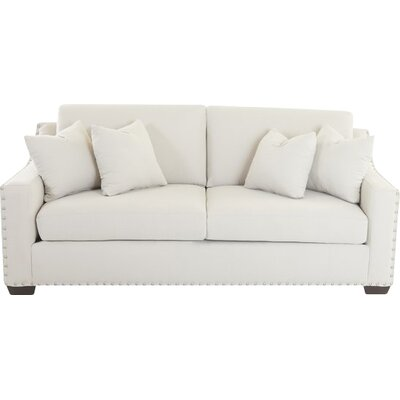 Elaine Loveseat Upholstery: Oakley Ivory