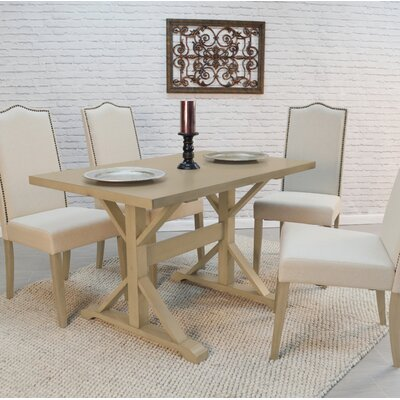 Maelynn Dining Table Finish: Weathered Gray