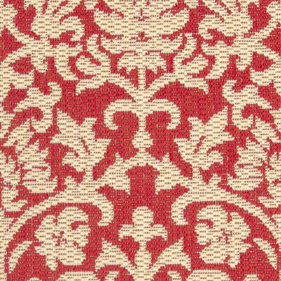 Bexton Hand-Woven Red/Natural Indoor/Outdoor Area Rug Rug Size: 2 x 37