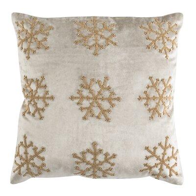 Kavanaugh Throw Pillow Color: Beige & Gold, Size: 20 H x 20 W x 3 D