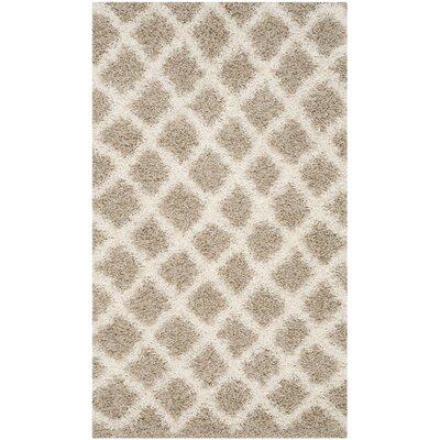 Laurelville Beige/Ivory Area Rug Rug Size: Rectangle 3 x 5