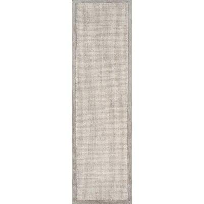 McCollum Hand-Tufted Gray Area Rug Rug Size: Runner 23 x 8