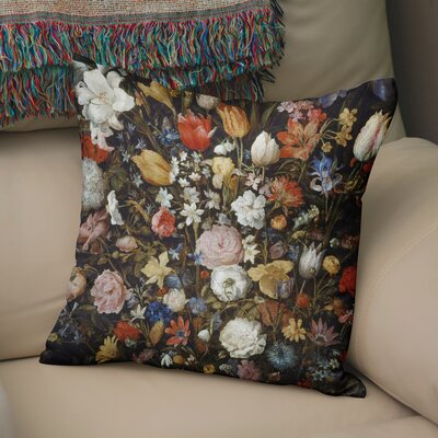 Leatham Throw Pillow Size: 24 H x 24 W x 6 D