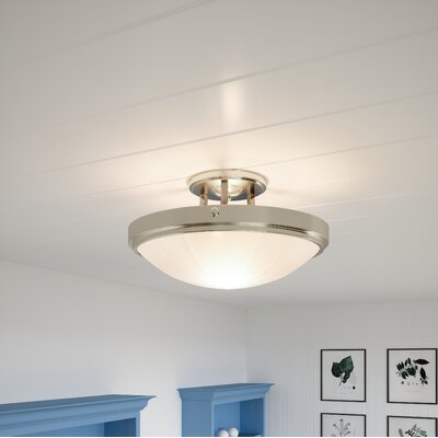 Camelot Ceiling LED Semi Flush Mount