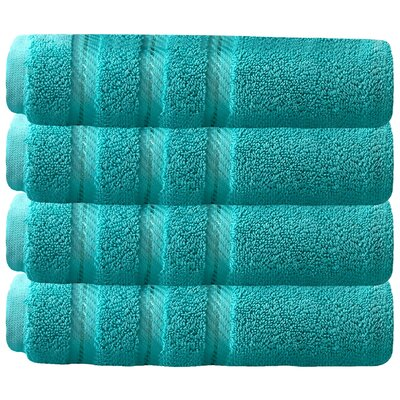 Hand Towel Set Color: Aqua