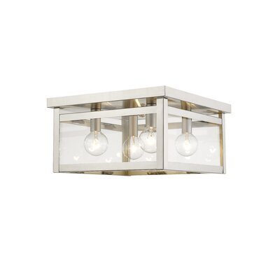 Brundidge 4-Light 40W Flush Mount