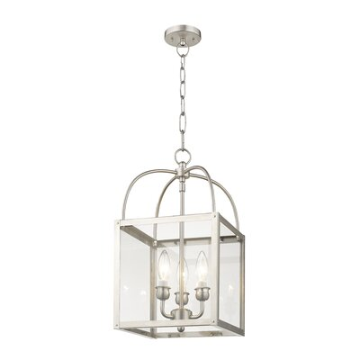 Brundidge 3-Light Semi Flush Mount