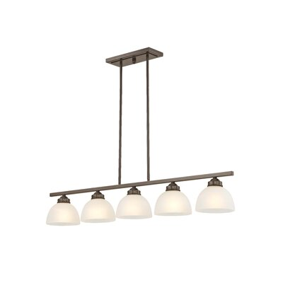 Irwin 5-Light Kitchen Island Pendant Finish: English Bronze