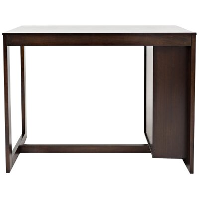 Amandes Rectangular Counter Height Dining Table with Shelving