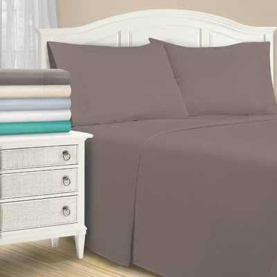 Harvel 1500 Thread Sheet Set Color: Gray, Size: Queen
