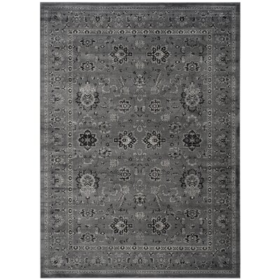 Bainsby Dark Gray / Light Gray Area Rug Rug Size: Rectangle 8 x 11