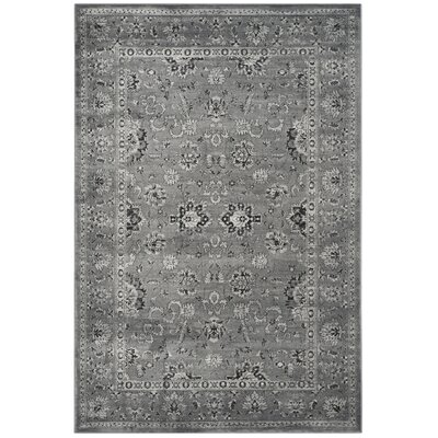 Bainsby Dark Gray / Light Gray Area Rug Rug Size: Rectangle 51 x 77