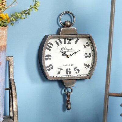 Collingdale Rustic Old Gate Wall Clock