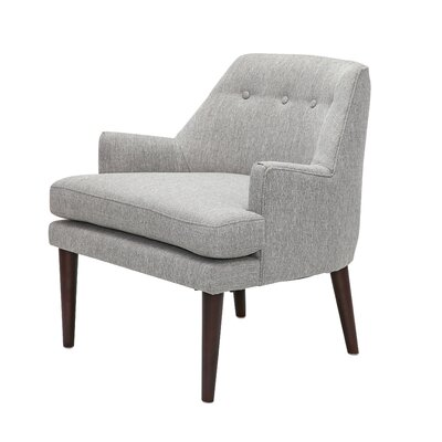 Appaloosa Mid Century Accent Armchair Upholstery: Gray