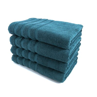 Classic Luxury Towel Set Color: Colonial Blue