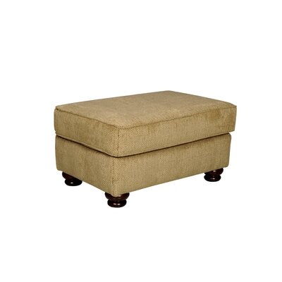 Westerville Ottoman Upholstery: Green