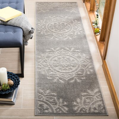 Princetown Light Gray Area Rug Rug Size: Runner 23 x 8