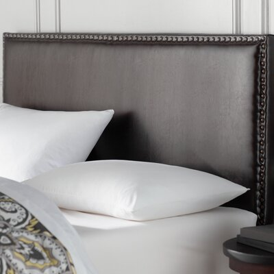 Lawrence Upholstered Panel Headboard Size: King / California King, Upholstery: Brown