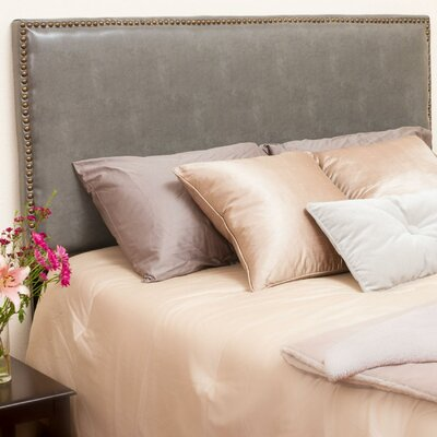 Lawrence Upholstered Panel Headboard Size: King / California King, Upholstery: Dark Grey