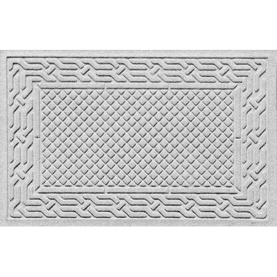Olivares Acropolis Doormat Color: White, Mat Size: Rectangle 30 x 45