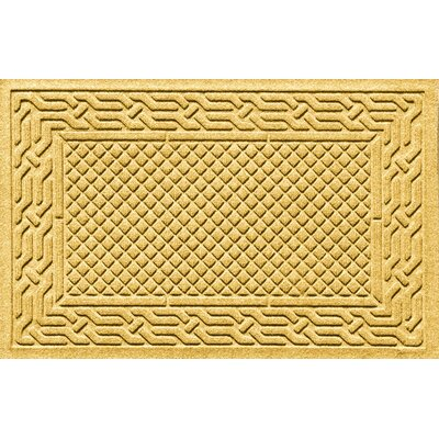 Olivares Acropolis Doormat Color: Yellow, Mat Size: Rectangle 24 x 36