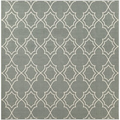 Amato Green Indoor/Outdoor Area Rug Rug Size: Square 73