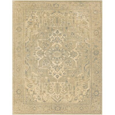 Redding Beige/Gray Area Rug Rug Size: Rectangle 710 x 910