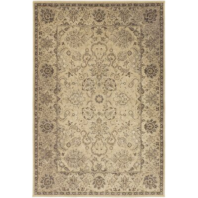 Redding Beige Area Rug Rug Size: Rectangle 110 x 211