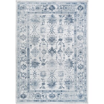 Broadview Navy Area Rug Rug Size: Rectangle 52 x 76