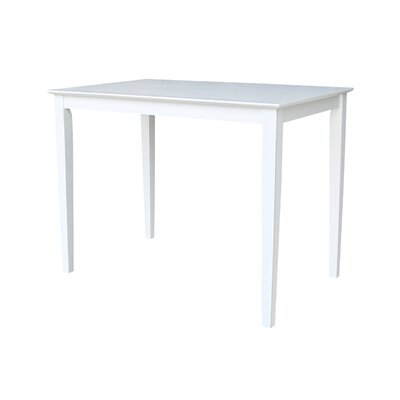 Glenside Counter Height Dining Table Finish: White